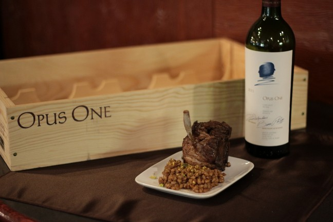 Opus One Pairing Dinner